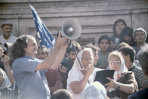 DemonstrantInnen in Argentinien März 2004